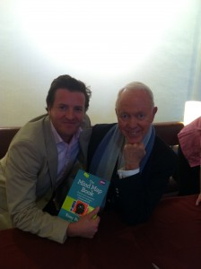 John McKeon with Tony Buzan