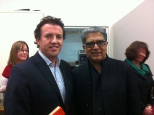 Dr John McKeon and Dr. Deepak Chopra