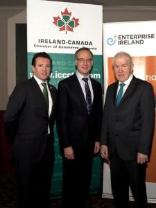 John McKeon, Rob Oliphant & Minister Jimmy Deenihan