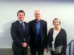 John McKeon, Ian Robertson & Bridget Noone